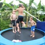 On trampoline